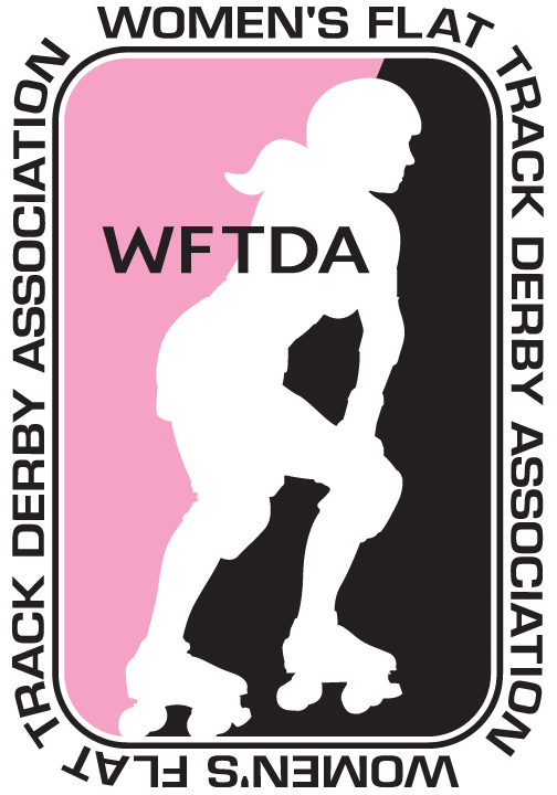 WFTDA Womens Flat Track Derby Association Logo