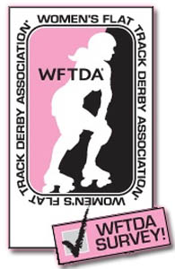 2012 WFTDA Survey Logo