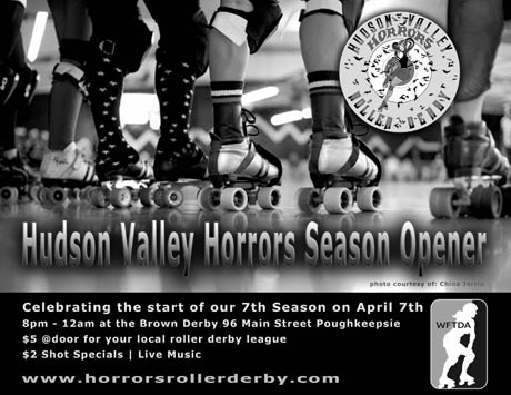 Hudson Valley Horrors Season Opener 2012 Flyer