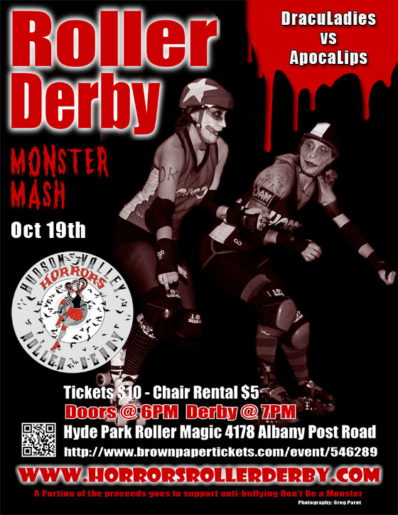 Hudson Valley Horrors Monster Mash Bout Flyer 10-19-14