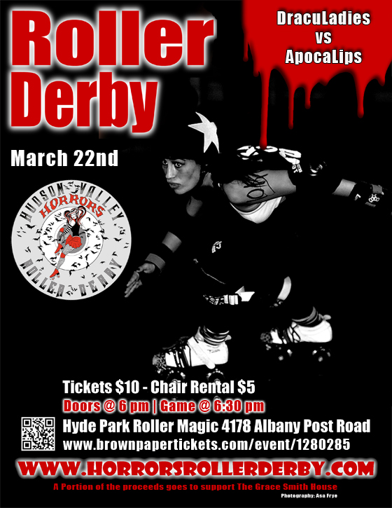 Roller Derby Bout Flyer 03-22-15